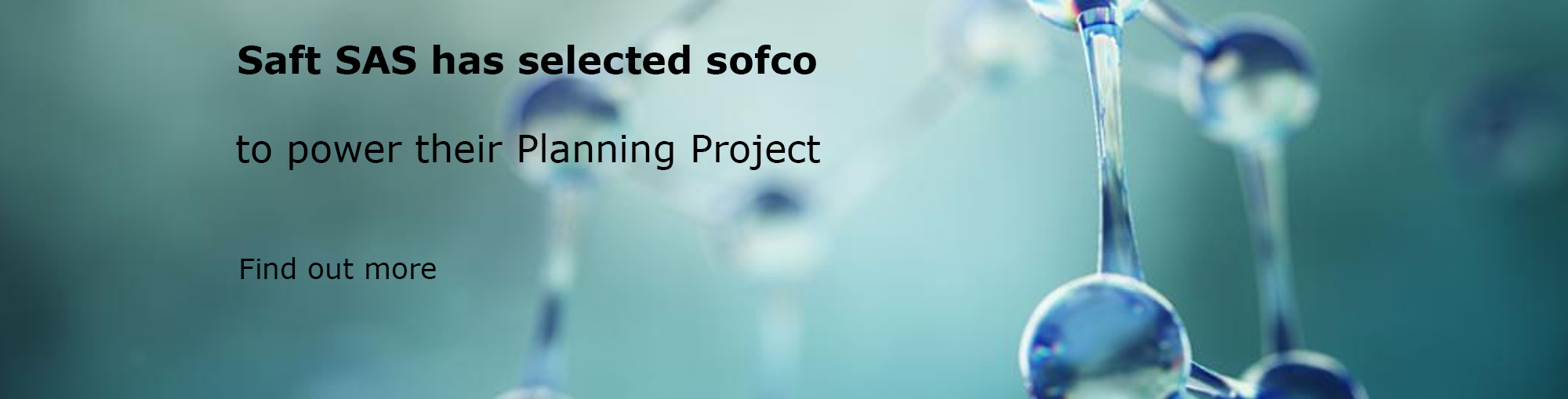 Saft has selected sofco